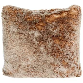 Winter Home Cushion Tundrawolf Full Fur