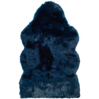Winter Home Sheepskin Midnight Wolf