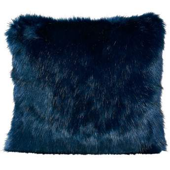 Winter Home Cushion Midnight Wolf